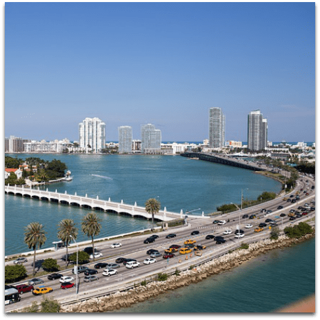 Miami-Fort Lauderdale FL City Guide featuring things to do, restaurants, shows, sports, discounts, and more