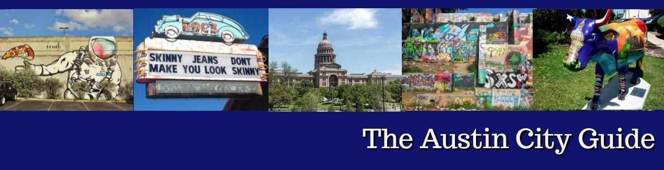 Austin guide featuring events, activities, discounts, sports, dining, and things to do