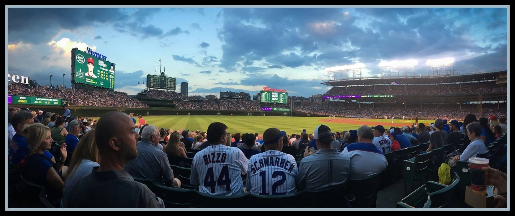 Chicago cubs at Wrigley Field