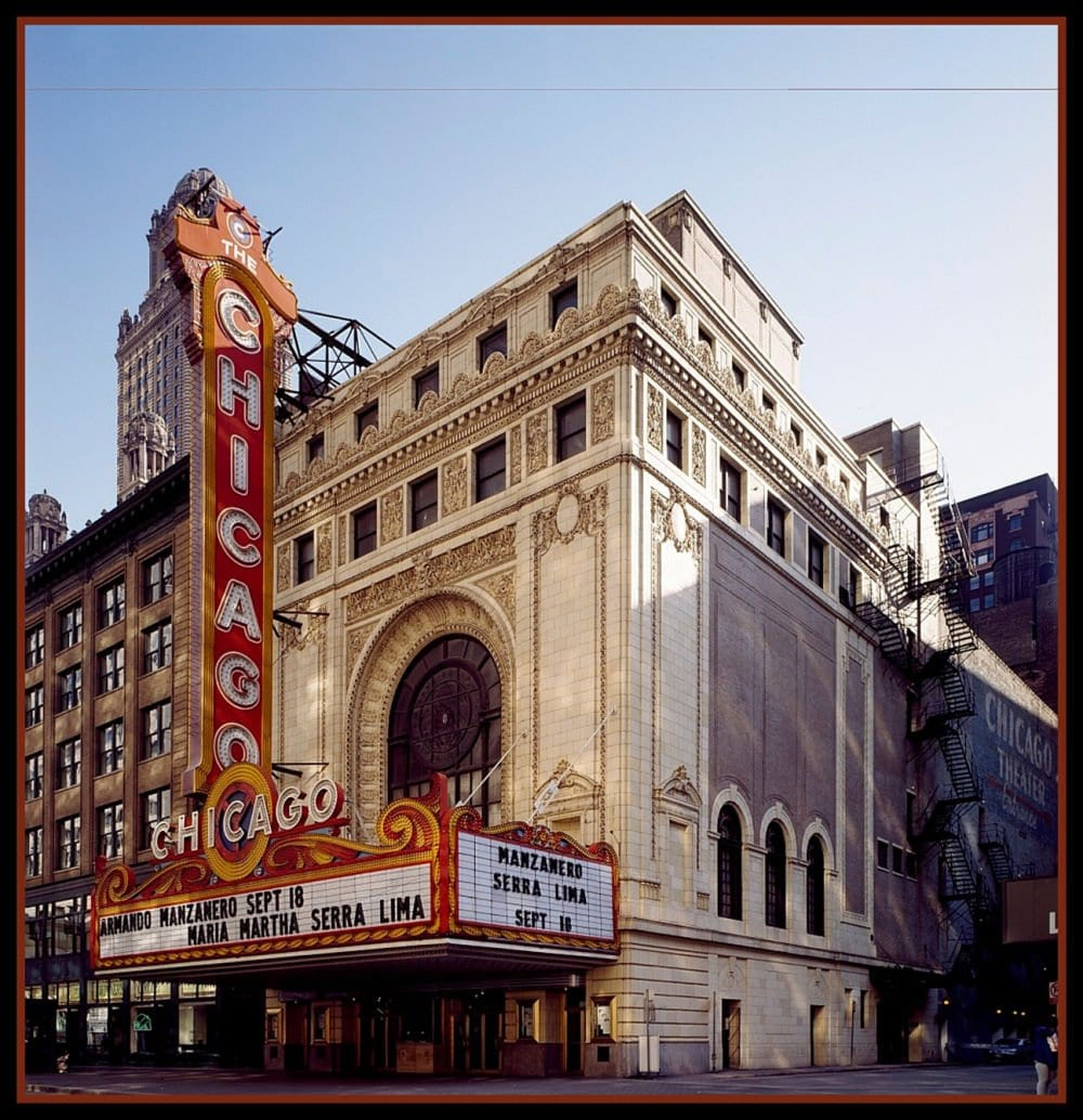 Chicago Theater in Chicago Illinois