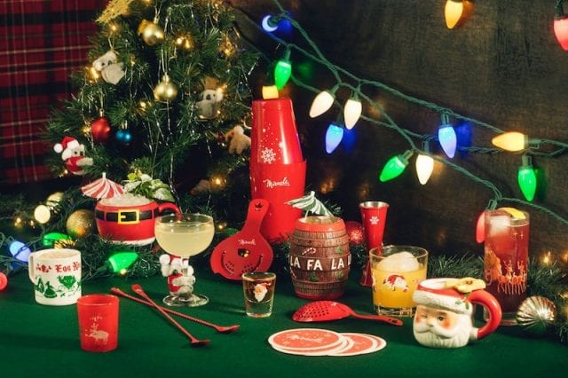Christmas drinks in Austin Texas