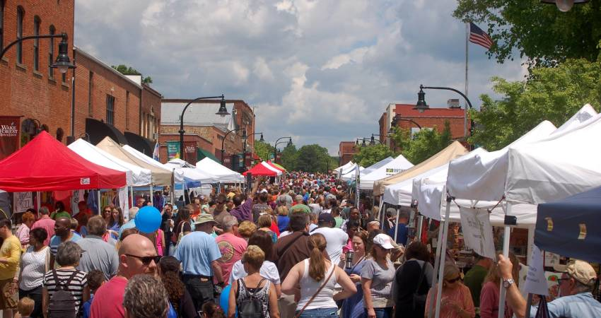 Raleigh fairs and festivals spring 2019