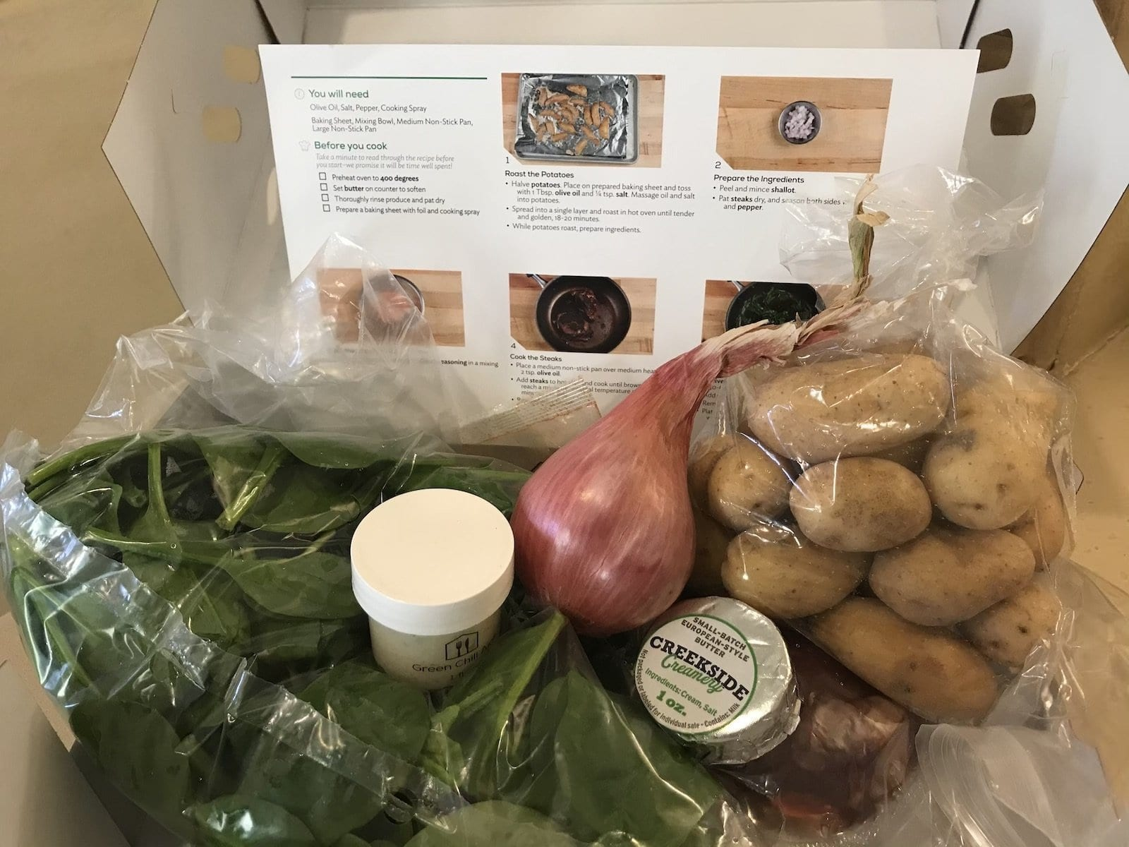 home chef meal kit, home meal delivery kit