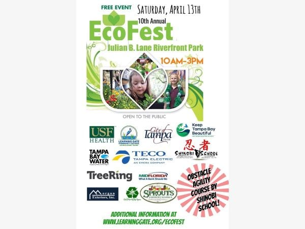 Tampa Bay Ecofest Earth Day 2019