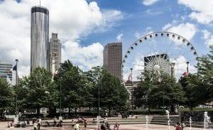 Centennial Olympic Park, free things to do in atlanta