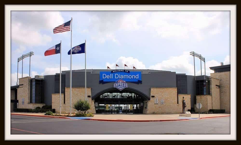 dell diamond, round rock tx, baseball in texas, round rock baseball