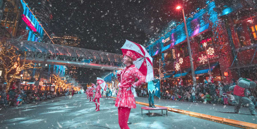 Bellevue Snowflake Lane, Christmaas events and shows in Seattle
