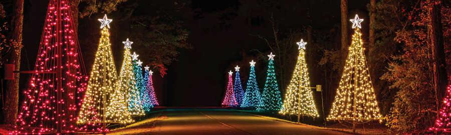 Fantasy in Lights Atlanta, Callaway Gardens Atlanta, Christmas Lights in Atlanta