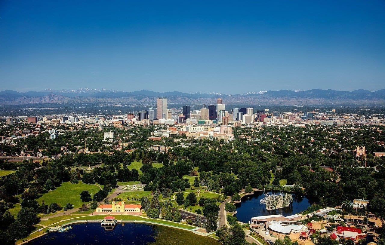 Denver, Denver skyline, mile high city