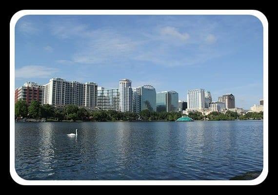 Orlando, Lake Eola, Lake Eola Orlando FL