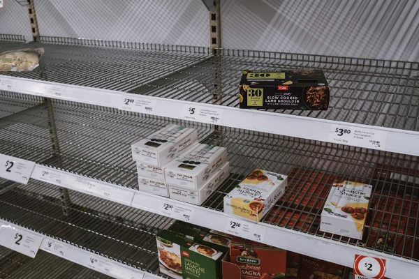 empty shelves Australia, Coronavirus Australia, panic buying Coronavirus