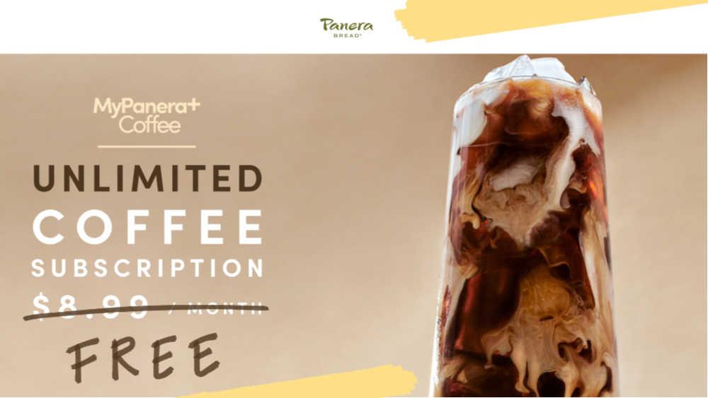 my panera coffee, free coffee, freebies at panera, freebies in July, my panera free coffee subscription