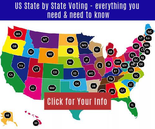 us voting, voter registration. where to vote, when to vote, mail in voting, vote by mail, voter registration, register to vote