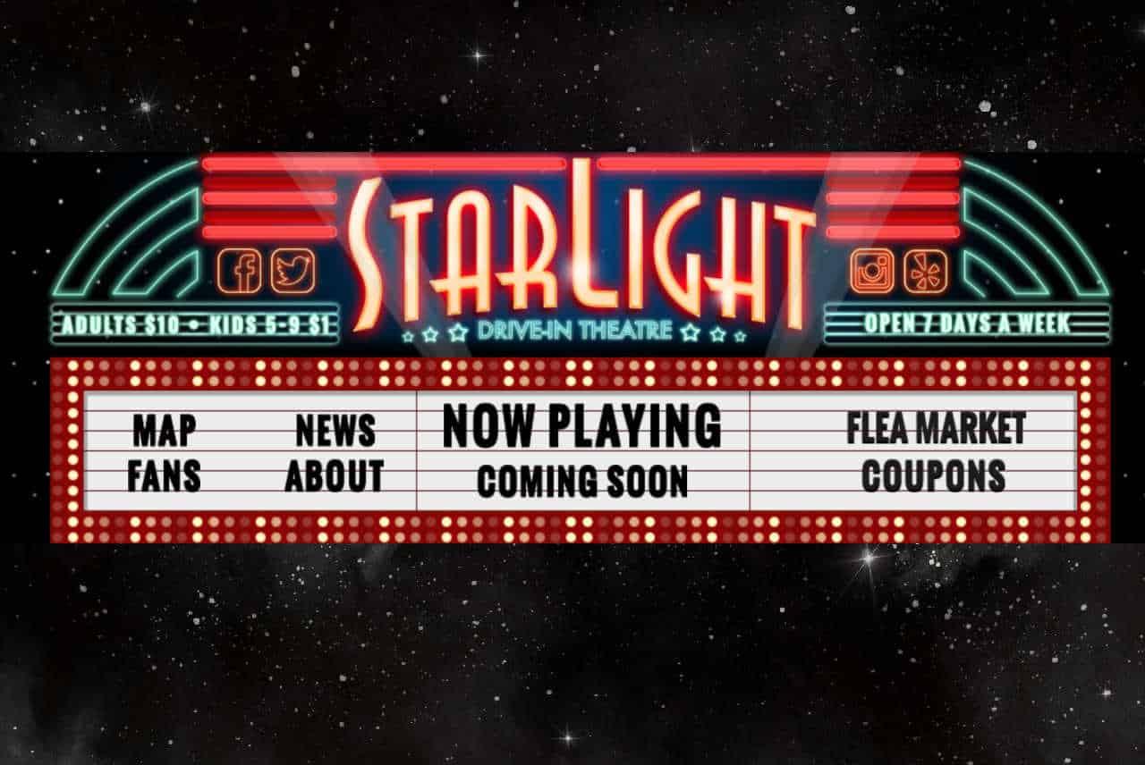 Starlight drive-in, Starlight drive-in in Atlanta, Starlight movie theater Atlanta, movies in Atlanta, Atlanta movie theaters