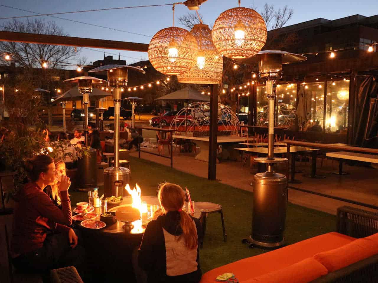 outdoor dining Denver, Denver outdoor restaurants, Denver restaurants