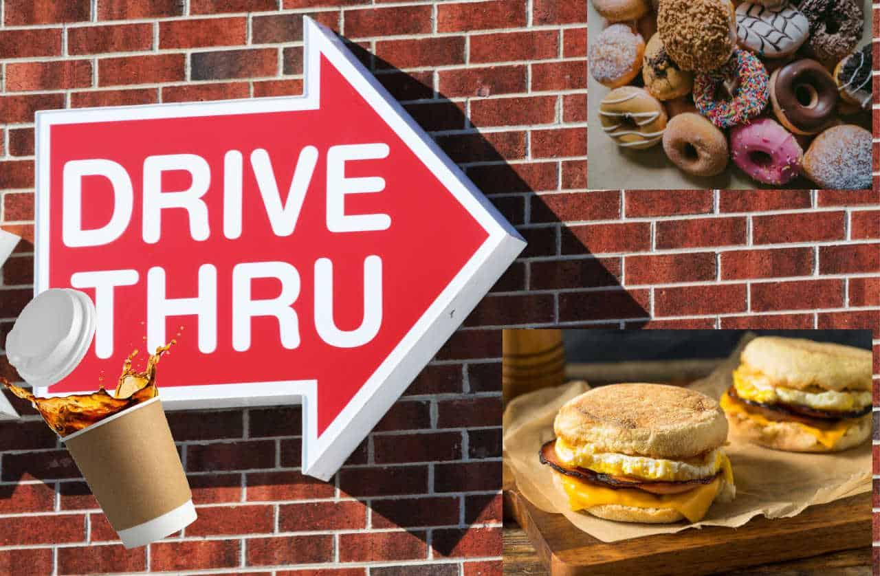 best fast food breakfasts, drive thru breakfast, best breakfast, fast food chains with breakfast