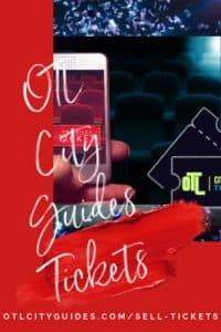 OTL City Guides Tickets, sell tickets, ticketing app, ticketing tools
