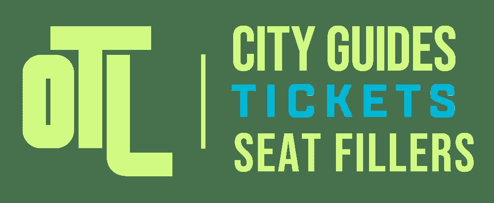 OTL City Guides logo, OTL seat fillers logo, OTL ticketing logo